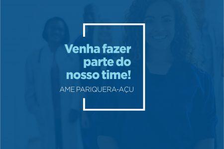 AME Pariquera-Açu realiza processo seletivo para 8 cargos