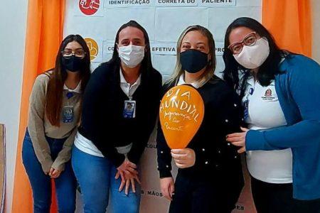 Atividades interativas no AME de Pariquera-Açu comemoram o Dia Mundial da Segurança do Paciente