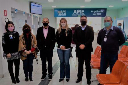 AME recebe a visita do deputado estadual Douglas Garcia