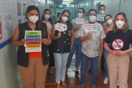 No Dia Mundial de Combate à Sepse, HDT promove ações para conscientizar pacientes e colaboradores.