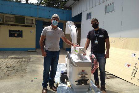Tecnologia para cirurgias ortopédicas no Hospital Estadual Azevedo Lima