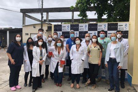 Médicos do Azevedo Lima ganham coquetel em homenagem ao seu dia