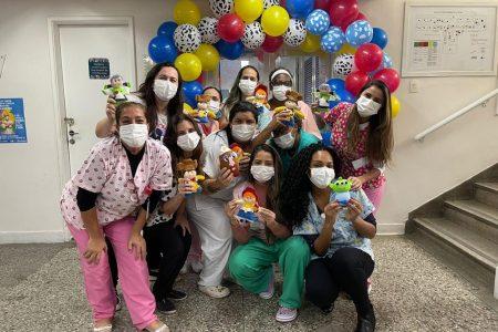 Outubro Festivo no Azevedo Lima: Dia das Crianças e Campanha de conscientização pela detecção precoce do câncer de mama