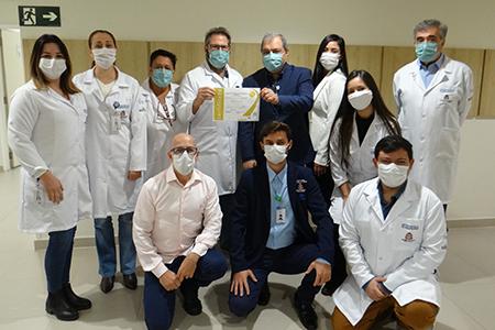 HRSJC está entre os 16 hospitais públicos do estado de São Paulo com certificação ONA 3