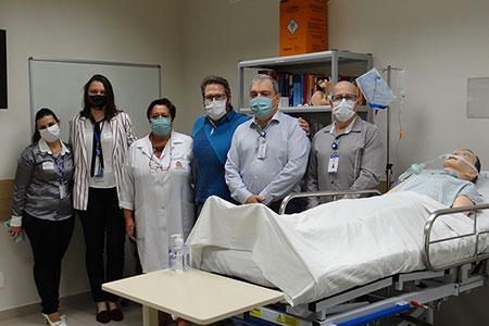 HRSJC inaugura Laboratório de Práticas Assistenciais