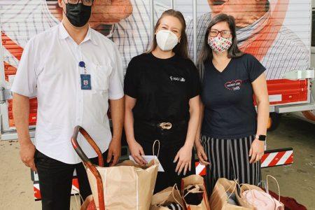 Colaboradores do escritório corporativo do ISG arrecadam agasalhos para lar de idosos em São Paulo